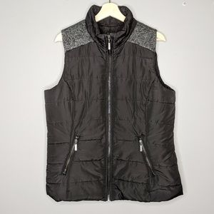 Style & Co | Petite Mixed Media Puffer Vest